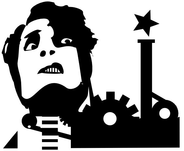 free vector Self Portrait As A Machine clip art