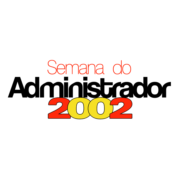 free vector Semana do administrador