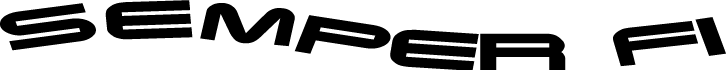 free vector Semper Fi logo