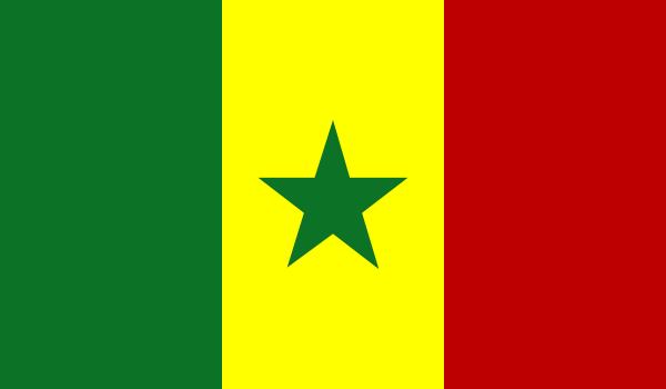free vector Senegal clip art