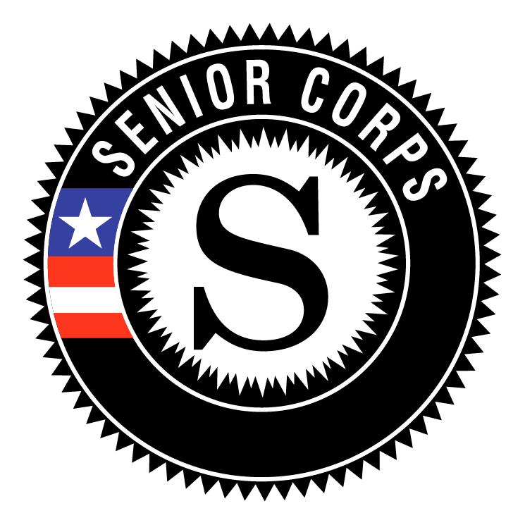 free vector Senior corps