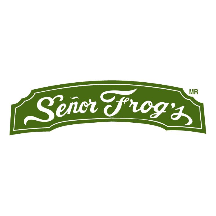 free vector Senor frogs