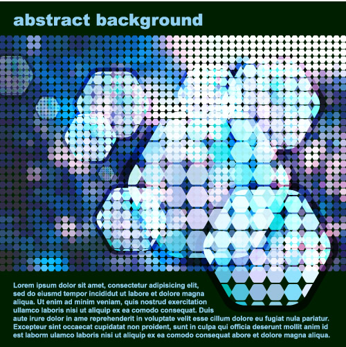 free vector Sense of science and technology background vector 2 dot