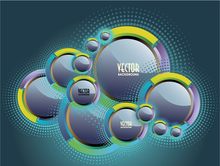 free vector Sense of science and technology background vector