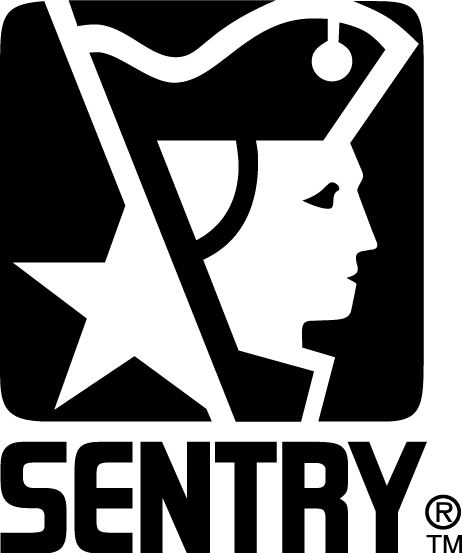 free vector Sentry logo