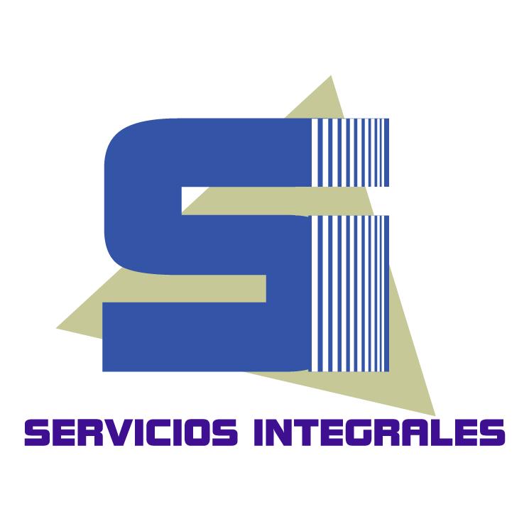 free vector Servicios integrales