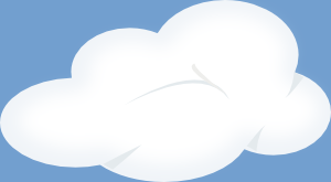 free vector Set Of Soft Clouds clip art