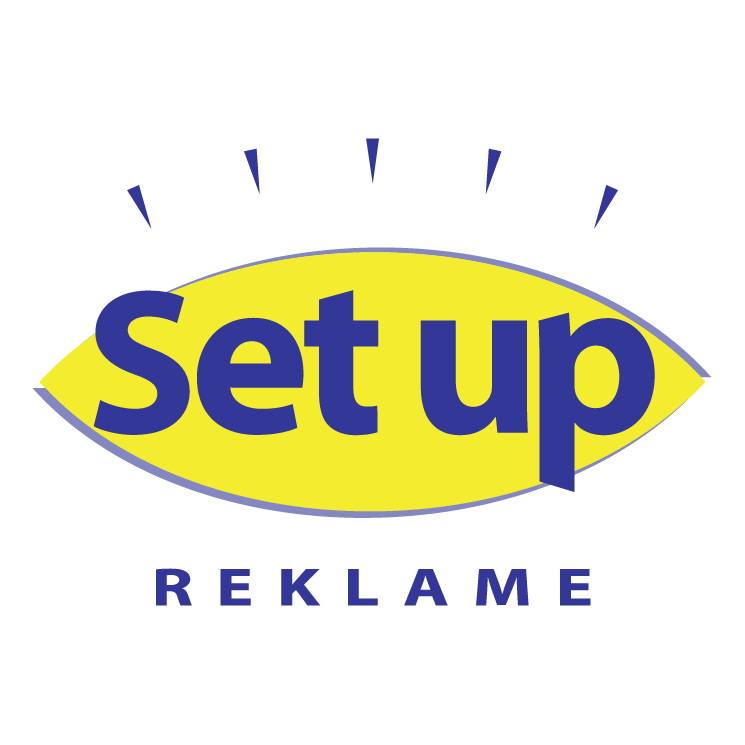free vector Set up reklame