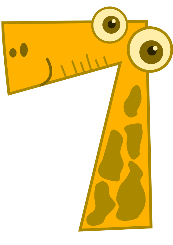 free vector Seven - animal