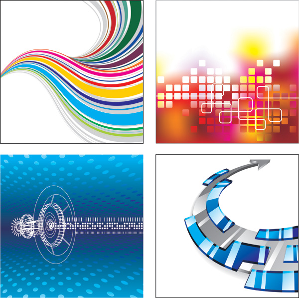 free vector Several useful background vector