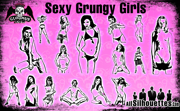 free vector Sexy Grungy Girls