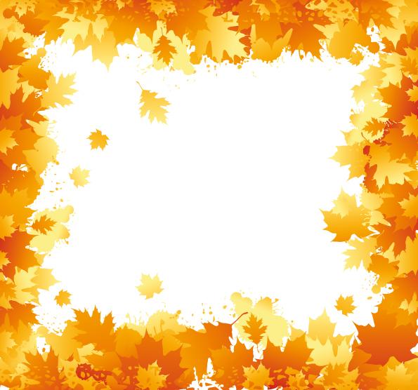 Image Gallery november fall border