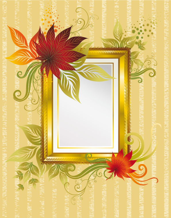 free vector Shading elegant border vector