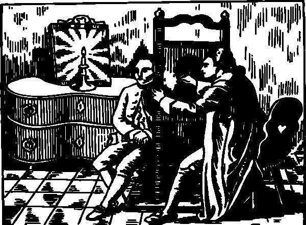 free vector Shadow Portraiture clip art