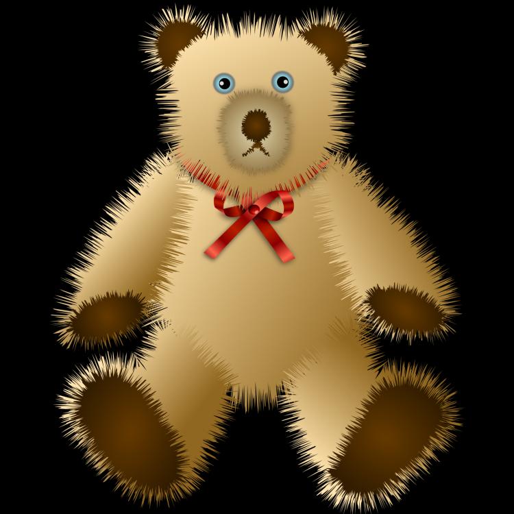 free vector Shaggy Teddy Bear