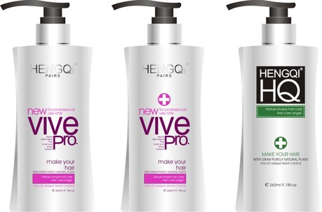 free vector Shampoo packaging vector