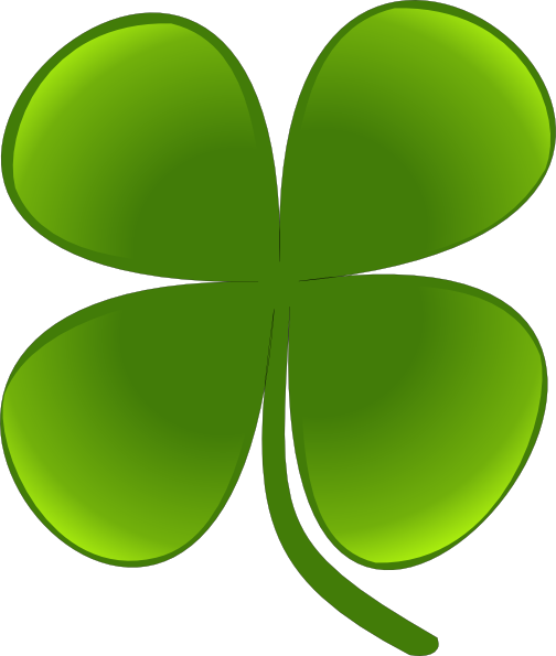 Shamrock For March clip art Free Vector / 4Vector