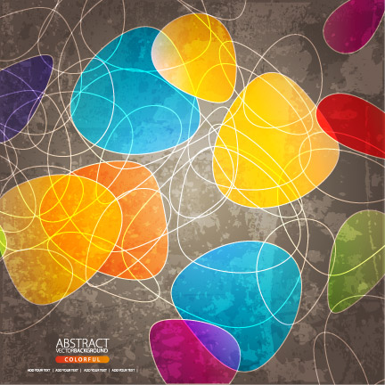 free vector Shaped with lines background vector
