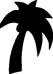 free vector Shapes Palm Tree clip art