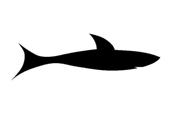 free vector Shark Black clip art