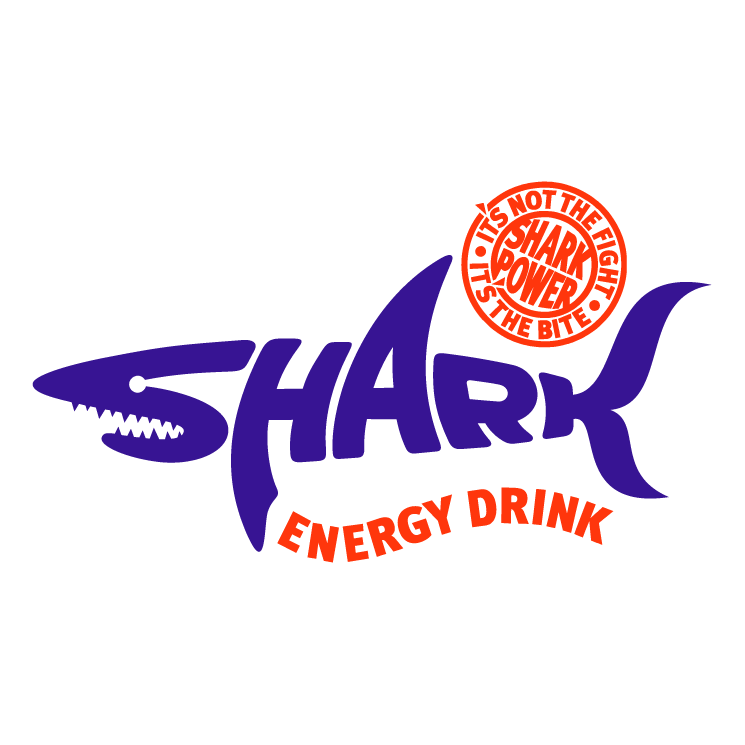 free vector Shark energy drink