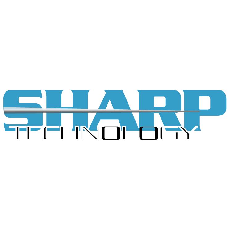 free vector Sharp technology