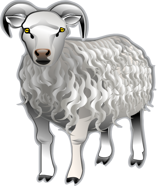 free vector Sheep Md V clip art