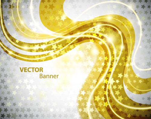 free vector Shine golden background vector