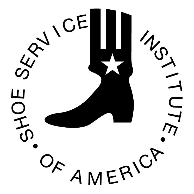 free vector Shoe service institute of america
