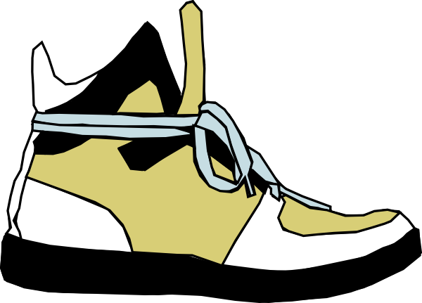free vector Shoes Sneaker clip art