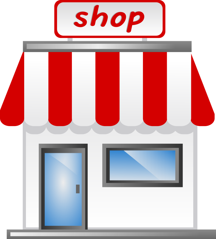 free vector Shop front Icon