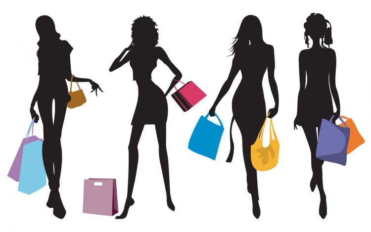 free vector Shopping attitude
