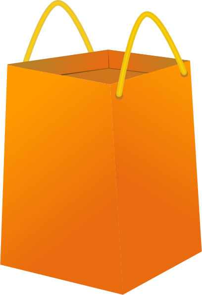 Shopping Bag clip art Free Vector / 4Vector