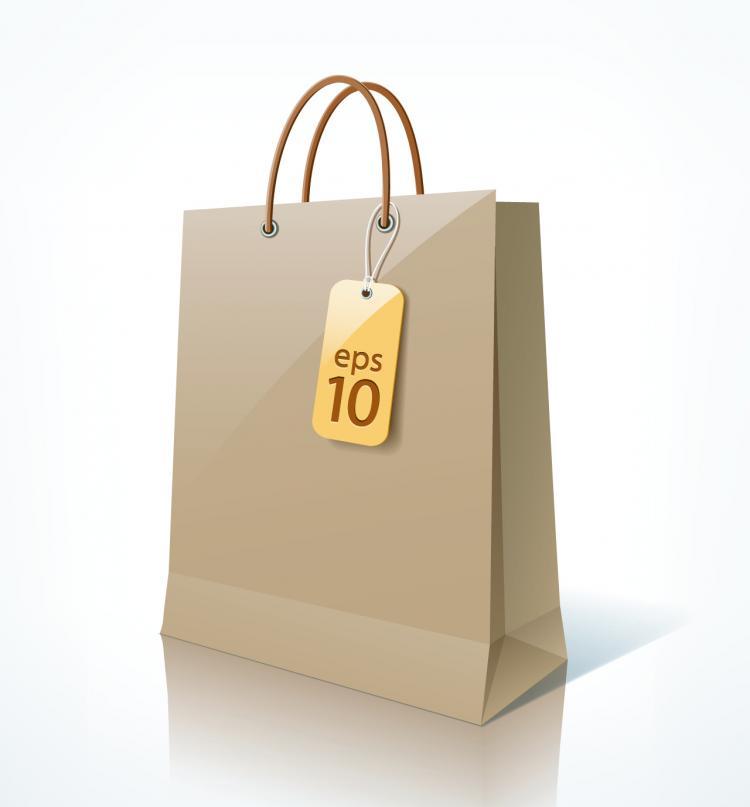 free vector Shopping bags 01 vector