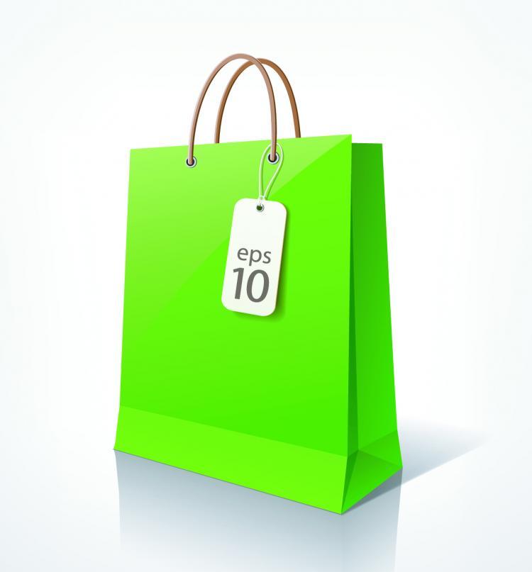free vector Shopping bags 02 vector