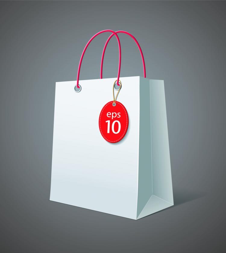 free vector Shopping bags 04 vector