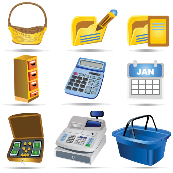 free vector Shopping icon vector payment