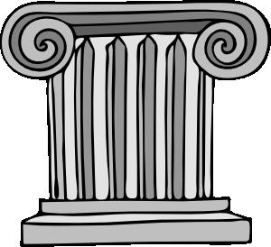 free vector Short Pillar clip art