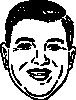 free vector Short Round Face clip art