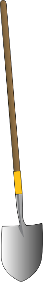 free vector Shovel clip art
