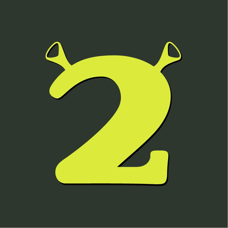 free vector Shrek 2