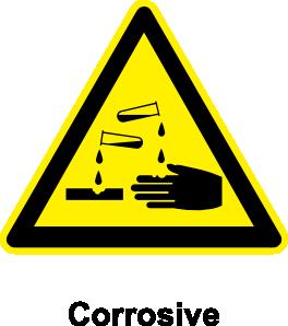 free vector Sign Corrosive clip art