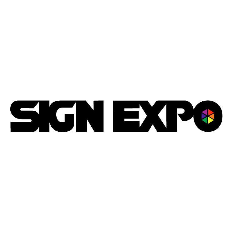 free vector Sign expo