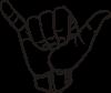 free vector Sign Language Y Hang Loose clip art