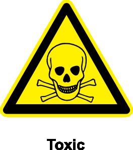 free vector Sign Toxic clip art