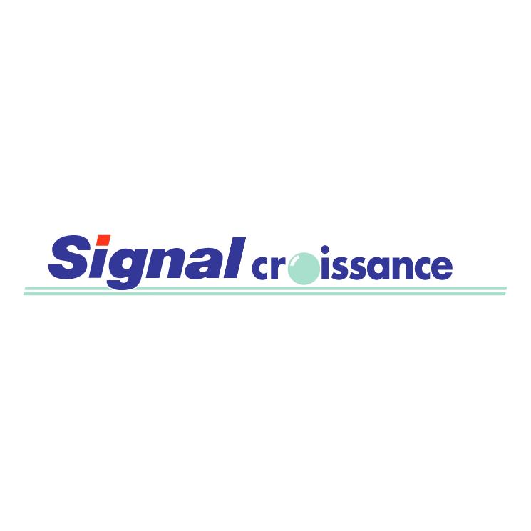 free vector Signal croissance