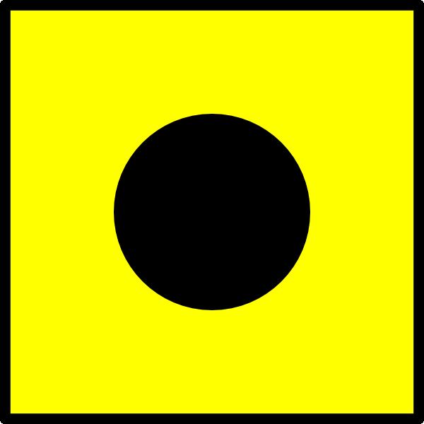 free vector Signal Flag India clip art