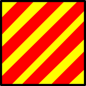 free vector Signal Flag Yankee clip art