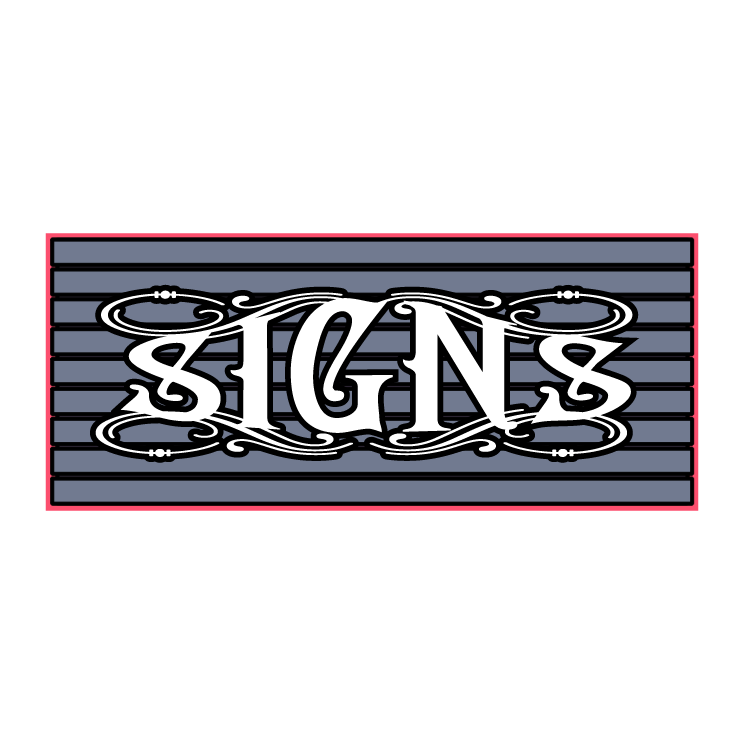 free vector Signs 0