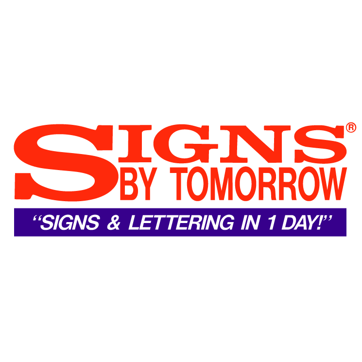 free vector Signs by tomorrow